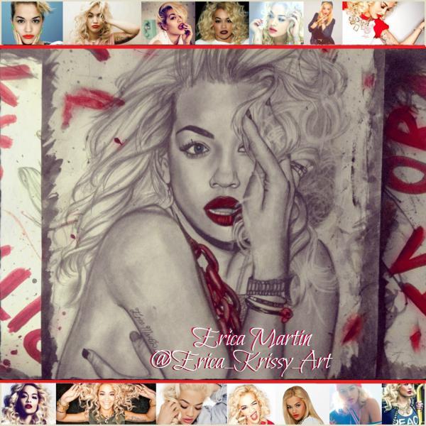 Rita Ora by EricaMartin